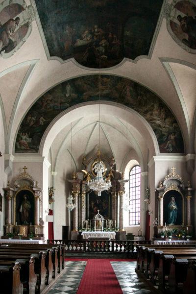 Chiesa del Santo Spirito di Klagenfurt - Interni