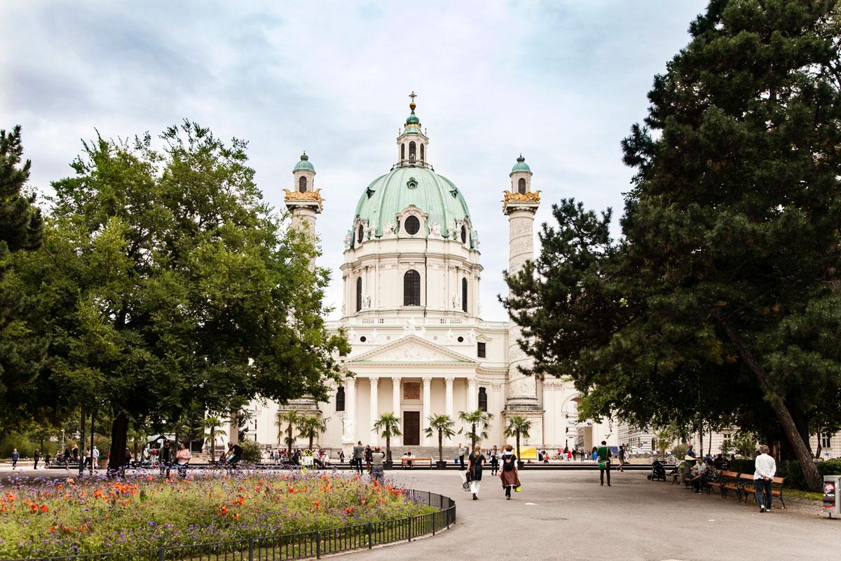Chiesa di San Carlo Borromeo - Vienna