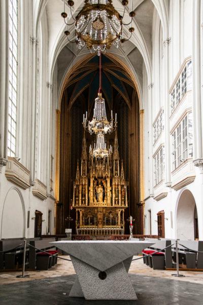 Chiesa di Sant'Agostino - Altare e Interni