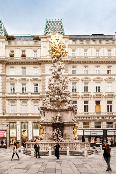 Colonna Votiva della Peste - Vienna