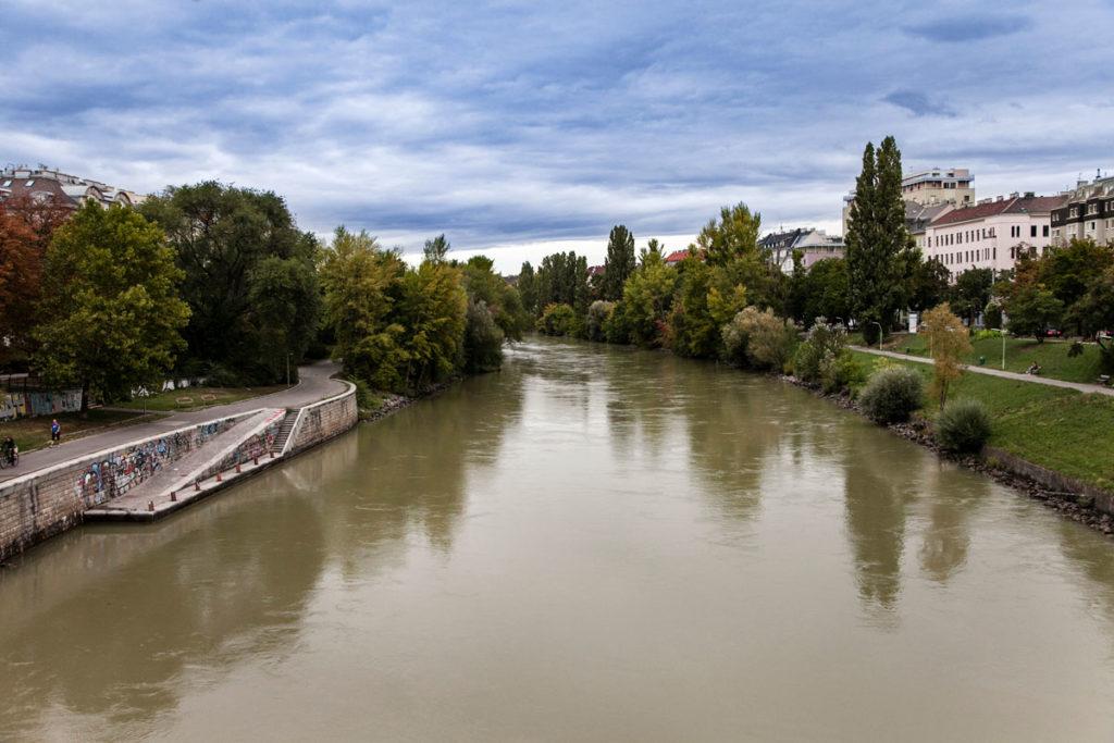 Donaukanal - Canale del Danubio a Vienna