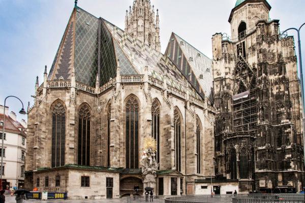 Duomo e tetto di Vienna