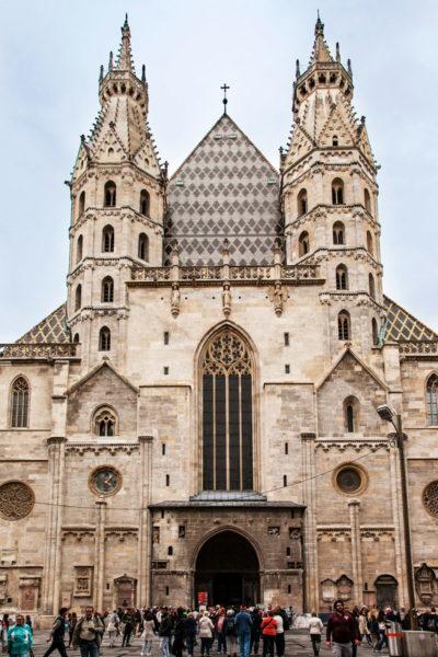 Facciata del Duomo di Santo Stefano - Vienna