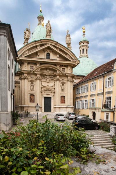 Facciata del Mausoleo dell'Imperatore Ferdinando II