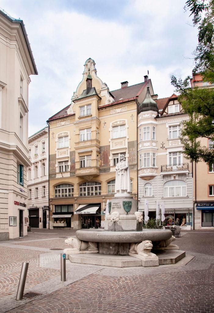 Fontana di Bernhard von Spanheim Herzog von Karnten