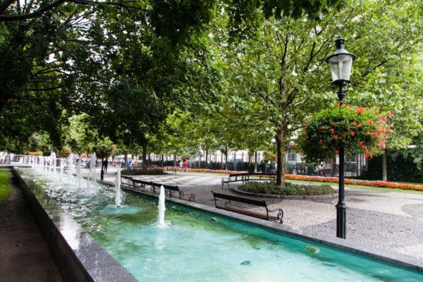 Fontana in Piazza Hviezdoslav - Bratislava