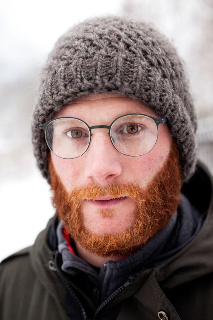 Francesco - Ragazzo con la Barba tra la Neve