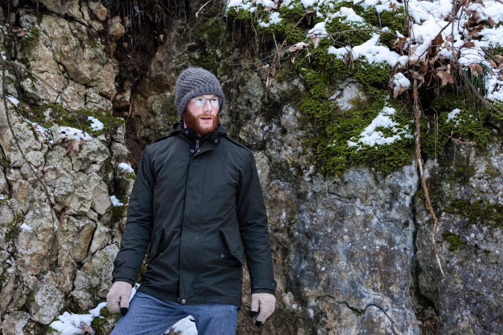 Francesco nel Trekking di Capodanno sulla Neve - Rifugio Belvedere