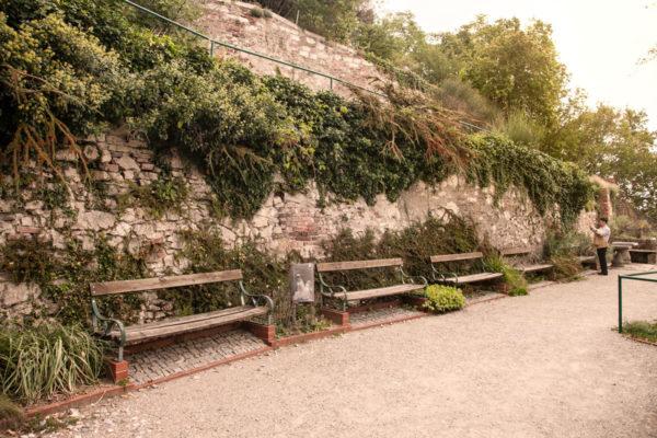 Giardini Pensili sotto a Schlossberg
