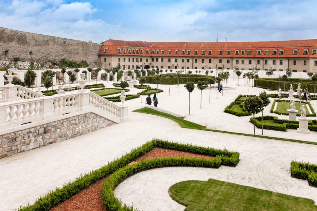 Giardino Barocco del Castello di Bratislava