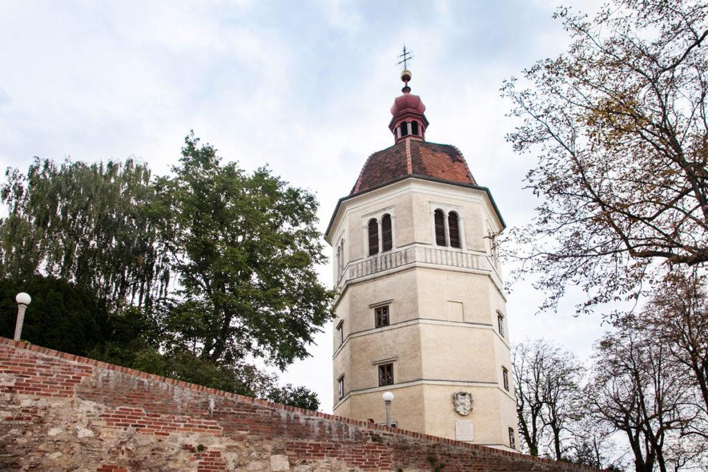 Glockenturm - Torre sul monte Schlossberg