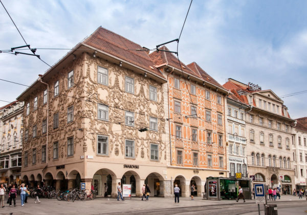 Haus der Luegg - Residenza con Decorazioni Rinascimentali e Barocche - Graz