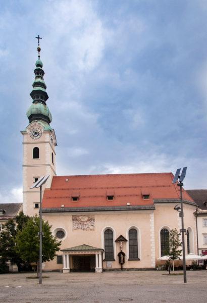 Heiligengeistkirche Klagenfurt - Facciata