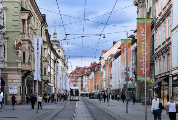 Herrengasse - Via dello Shopping cittadino