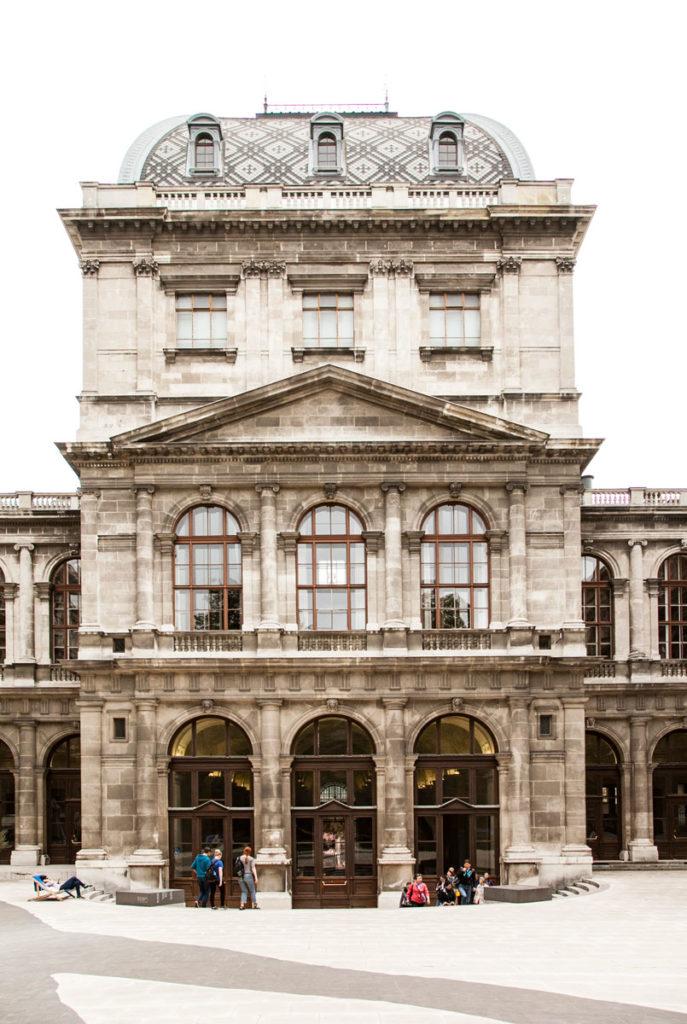 Ingresso Università Vienna dal Cortile Interno
