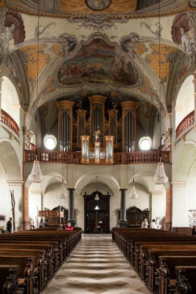 Interni Barocchi chiesa di Sant'Egidio