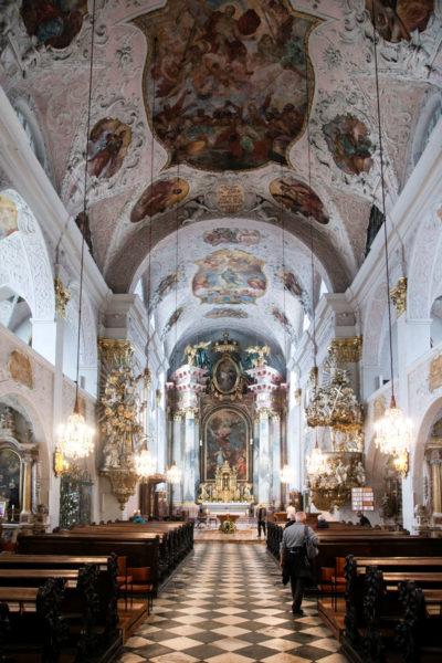 Interni della Cattedrale - Originariamente protestante