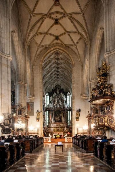 Interni della Chiesa Vescovile - Duomo di Graz