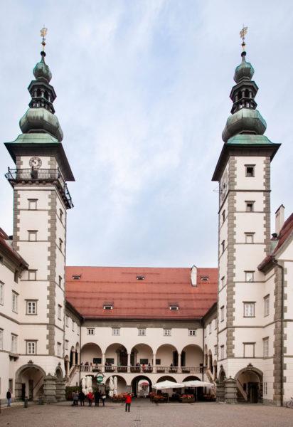 Landhaus Klagenfurt - Sede del Governo della Carinzia