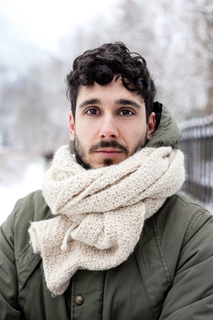 Lorenzo - Ragazzo Ritratto nella Neve