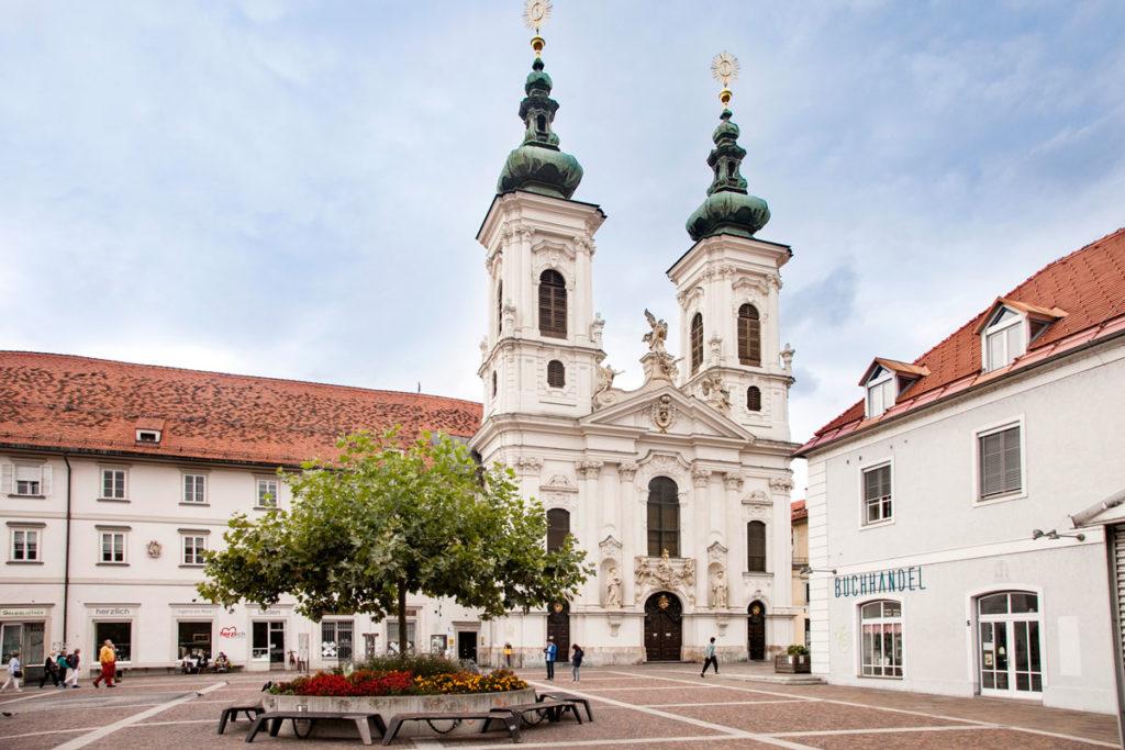 Mariahilfer kirche - Chiesa di Nostra Signora del Soccorso - Graz
