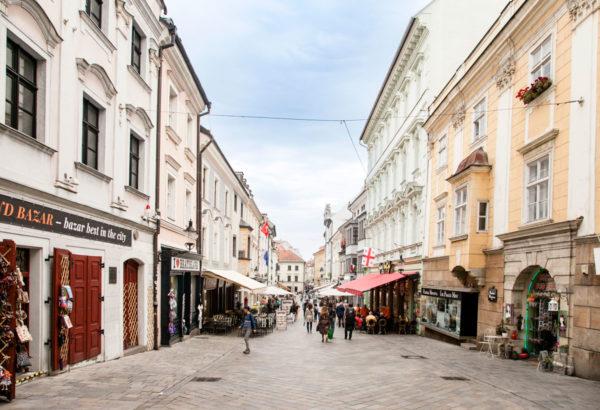 Michalska Ulica - Via Storica del Centro di Bratislava