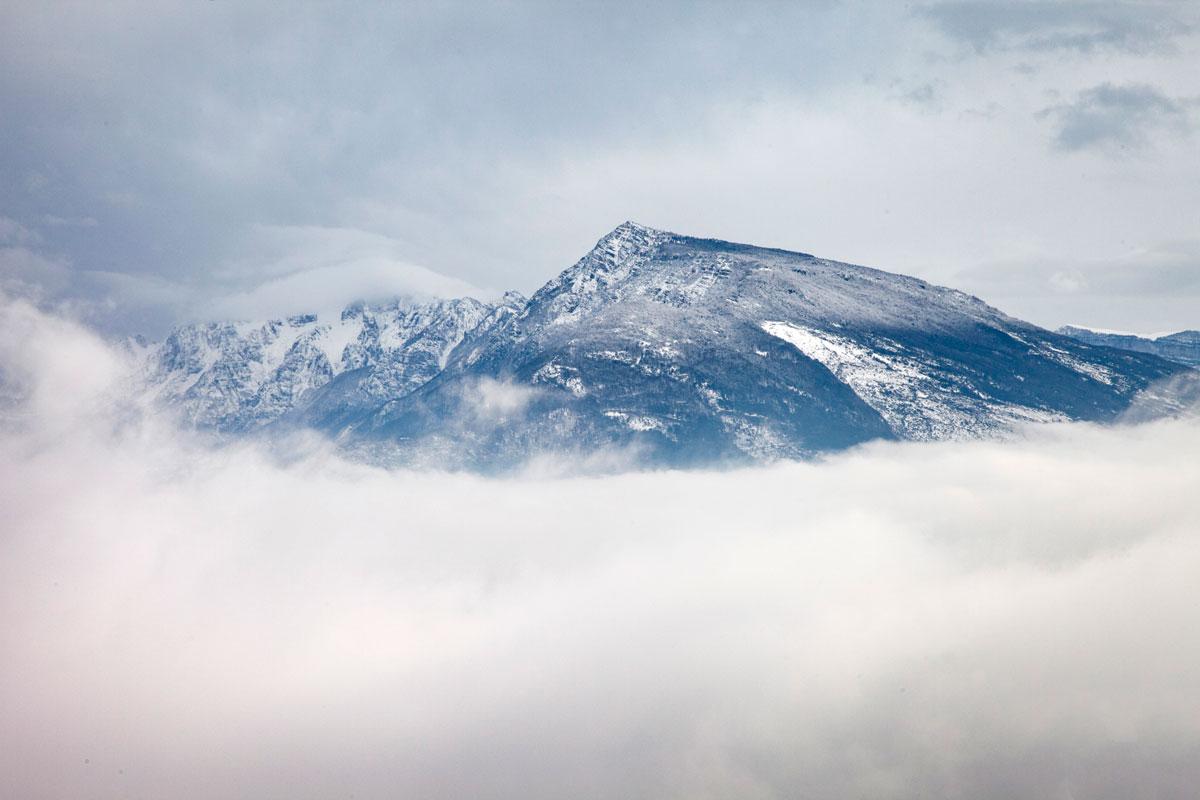 Montagna tra le Nuvole