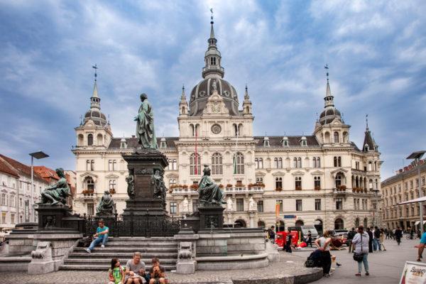 Municipio di Graz - Edificio Neorinascimentale