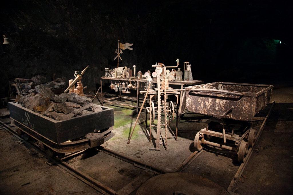 Museo degli oggetti utilizzati in miniera