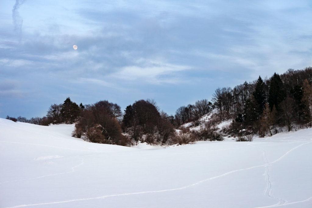 Neve e Luna a Bordala - Rovereto - Trento
