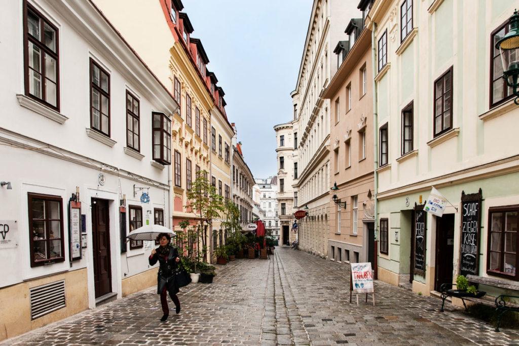 Palazzi Storici nel centro di Vienna - Austria