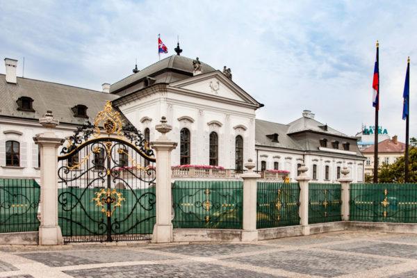 Palazzo Grassalkovich - Residenza Presidente della Slovacchia