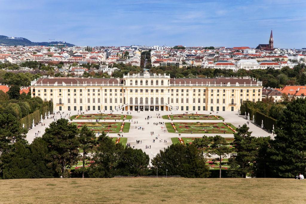 Parterre - Castello di Schonbrunn e Città di Vienna