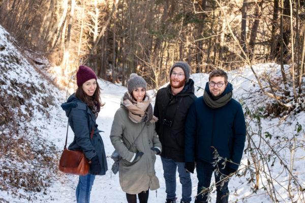 Passeggiata in mezzo alla neve - Capodanno