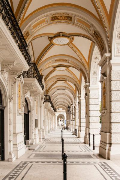 Porticati palazzi storici di Vienna
