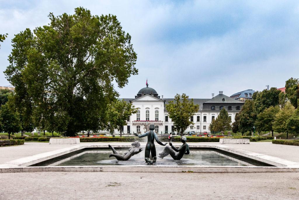 Prezidentska zahrada - Giardini Presidenziali