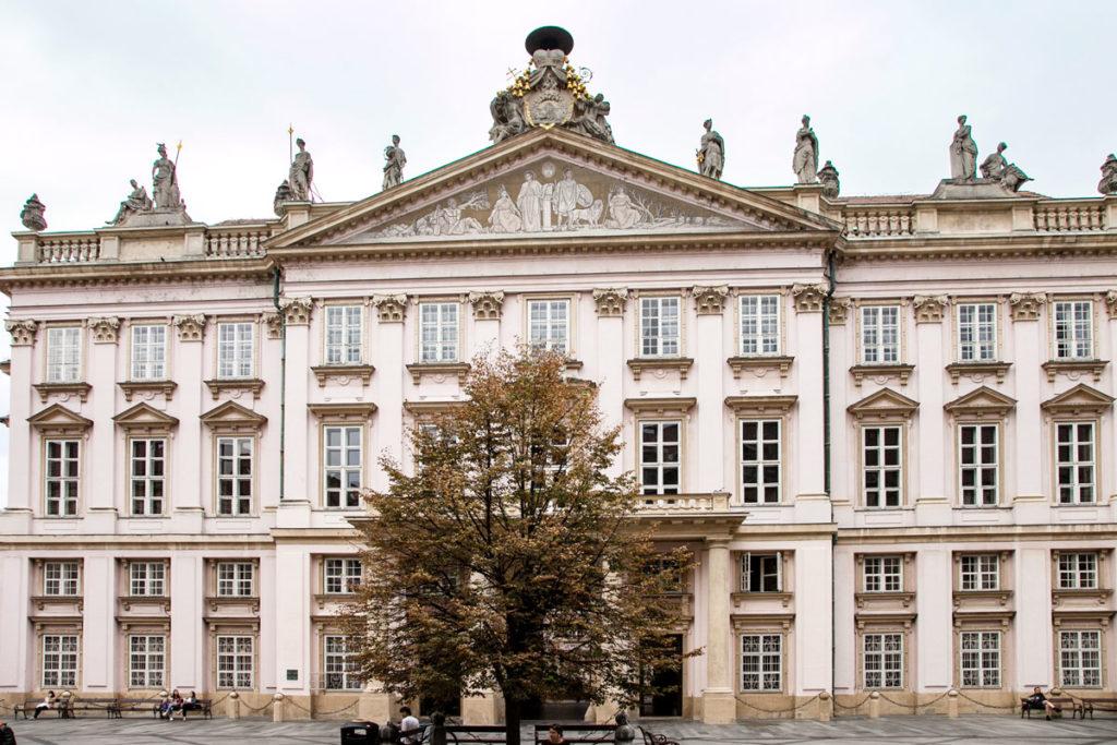Primacialny palac - Palazzo Primaziale Facciata