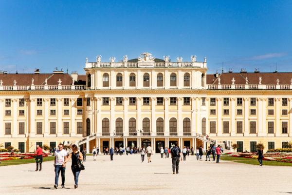 Retro del palazzo di Schonbrunn