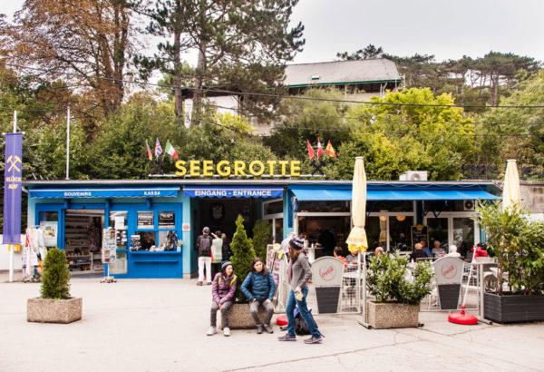 Seegrotte - Ingresso al lago sotterraneo Austriaco