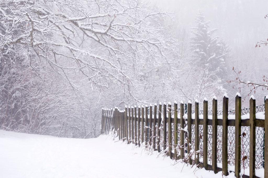Sentiero e Staccionata Innevata - Bordala - Capodanno sulla Neve a Rovereto