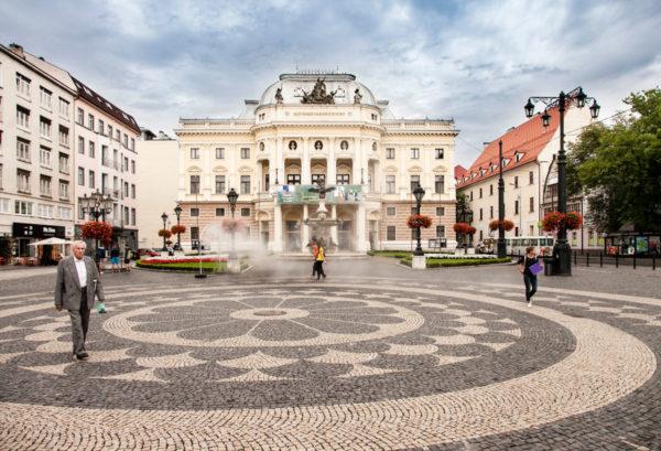 Slovak National Theatre di Bratislava