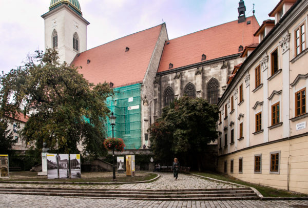 Sotto al duomo di Bratislava - Cattedrale di San Martino