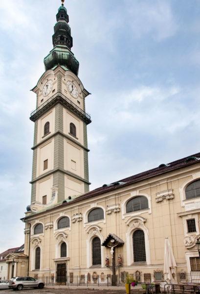 Stadtpfarrkirche St. Egid - Chiesa di Sant'Egidio a Klagenfurt