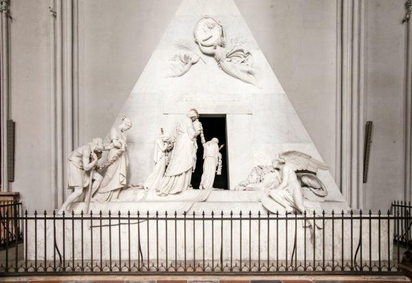 Statua di Antonio Canova - Monumento a Cristina d'Austria - nella Chiesa di Sant'Agostino - Vienna
