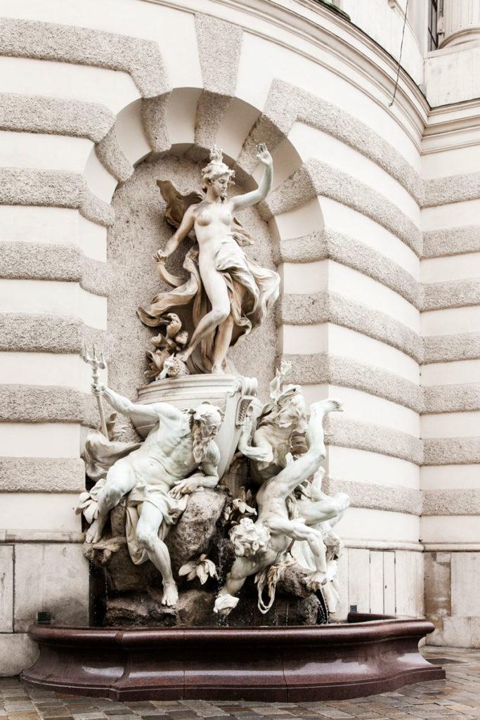 Statua in Michaelerplatz