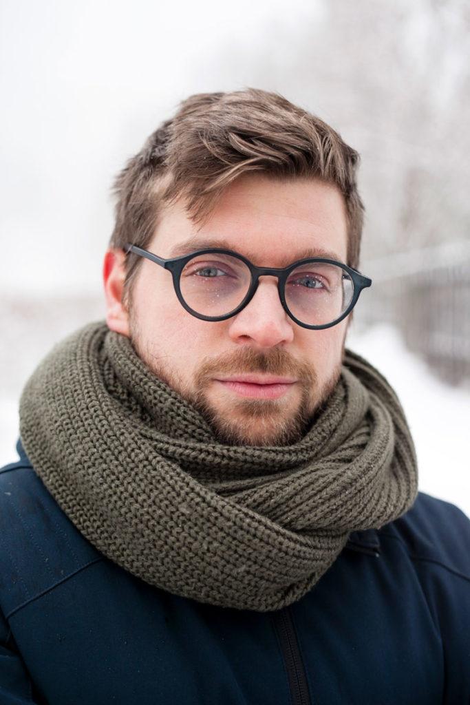 Stefano - Ritratto tra la Neve