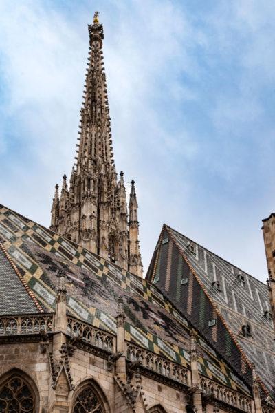 Steffl o Torre gugliata meridionale di Vienna