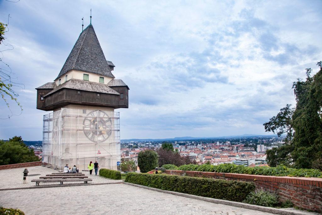 Torre dell'orologio - Simbolo di Graz Capitale della Stiria