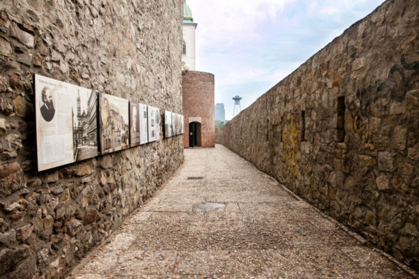 Tra le Mura della città nuova di Bratislava