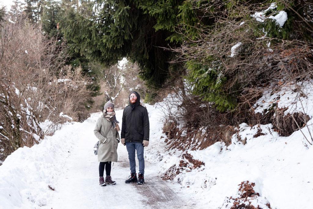 Valentina e Francesco - Coppia a Passeggio tra la Neve